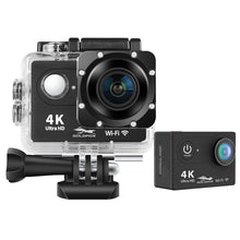 Load image into Gallery viewer, 4K WiFi Action Camera Ultra HD 12MP 2.0 LCD Screen 30m Waterproof Sport Video Camera 170D Wide Angle For Outdoor Extreme Sports