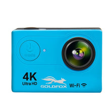 "Load image into Gallery viewer, Goldfox H9 Action Camera Ultra HD 4K / 25fps WiFi 2.0"" 170D Waterproof go 30m Helmet pro Video Recording Cameras Sport DV Camera"