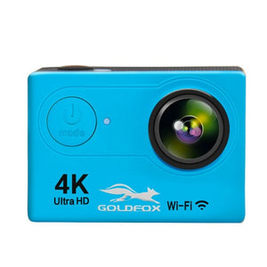 "Goldfox H9 Action Camera Ultra HD 4K / 25fps WiFi 2.0"" 170D Waterproof go 30m Helmet pro Video Recording Cameras Sport DV Camera"