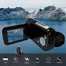 Load image into Gallery viewer, Video Camcorder HD 1080P Handheld Digital Camera 4X Digital Zoom SD/MMC Car 2 inch TFT display 16 million pixels Bursting