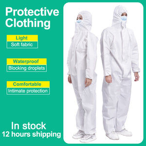 Protective Clothing Safety Protective Suits Anti fog static Isolation Suit Hazmat Protective equipment Dust-proof Work Coverall