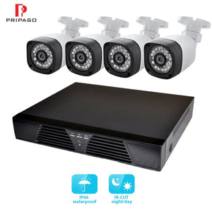 8CH Video Surveillance System Kit 720P 1MP CCTV Security Camera AHD Camera Kit Night Vision Waterproof Outdoor Analog Camera