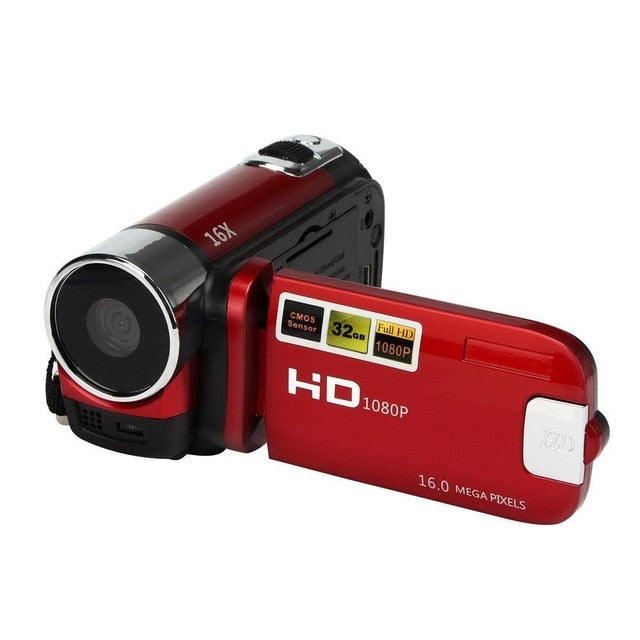 Camera Camcorder 16x High Definition Digital Video Camcorder 1080P 2.7 Inch TFT LCD Screen 16X Zoom Camera Us Plug R25
