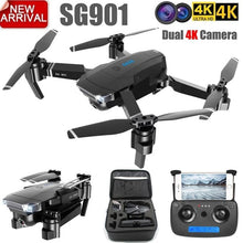 Load image into Gallery viewer, ZLL 2019New SG901 Camera Drone 4K HD Dual Camera Drones Follow Me Quadcopter FPV Profissional Professional GPS Long Battery Life