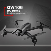 Load image into Gallery viewer, RC Fodable Drone GW106 720P Helicopter Wifi FPV Altitude Hold Helicopter Headless Mode RC Drone with HD Camera Drones
