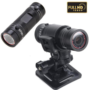 F9 FULL HD 1080P Mini Action Camera Waterproof aluminum alloy Sports camera DV Camcorder 120 degree H.264 Car DVR