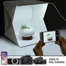 Load image into Gallery viewer, Upgraded Version Portable Photography Studio,Mini Portable and Folding Photo Light Box Studio Photo Photography Tent Kit with
