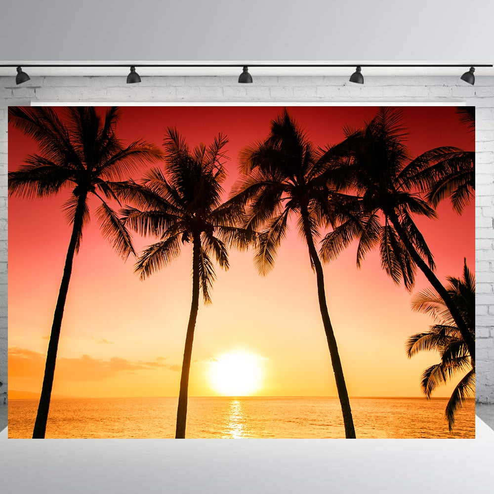 BEIPOTO Sunset seascape backdrop photography background photo booth props party decoration studio supplies baby child shootB-423