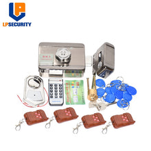 Load image into Gallery viewer, Remote control Electronic RFID Door Gate Lock/Smart Electric Lock Magnetic Induction Door Entry Access Control System 10 tags