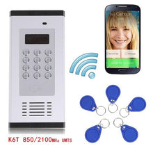 Load image into Gallery viewer, Garage Door Remote Control Waterproof GSM 3G Access Control System Apartment Intercom Door Gate Opener Supports Dial/RFID Open