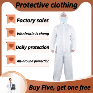 Protective Clothing and Safety Equipment Coverall Protective Clothing Personal Protective Clothing