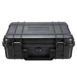275*210*90mm Waterproof Safety Equipment Instrument Toolbox ABS Plastic Portable Tool Box Outdoor Impact Resistant with Foam