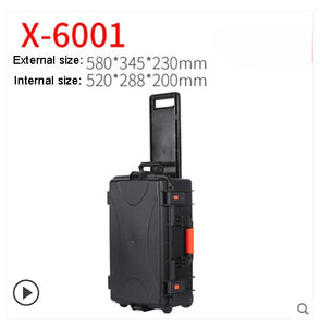 Outdoor Protective Safety Case Shockproof Waterproof Boxes Plastic Tool Box Dry Box Safety Equipment Tool Storage with foam