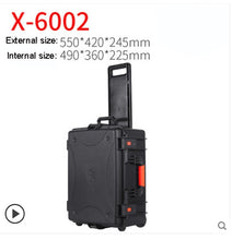 Load image into Gallery viewer, Outdoor Protective Safety Case Shockproof Waterproof Boxes Plastic Tool Box Dry Box Safety Equipment Tool Storage with foam