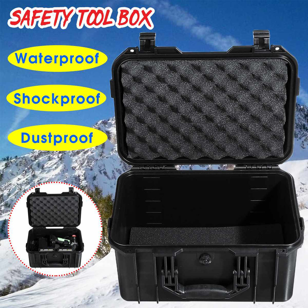 Waterproof Safety Tool Case Portable Sealed Instrument Tool Box Equipment Impact resistant Toolbox Suitcase Tool Container