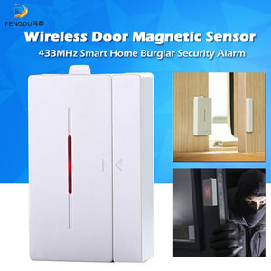 Door Window Alarm Sensor 433mhz WiFi Wireless Automation Anti-Theft Alarm For Smart Home Security Alarm System