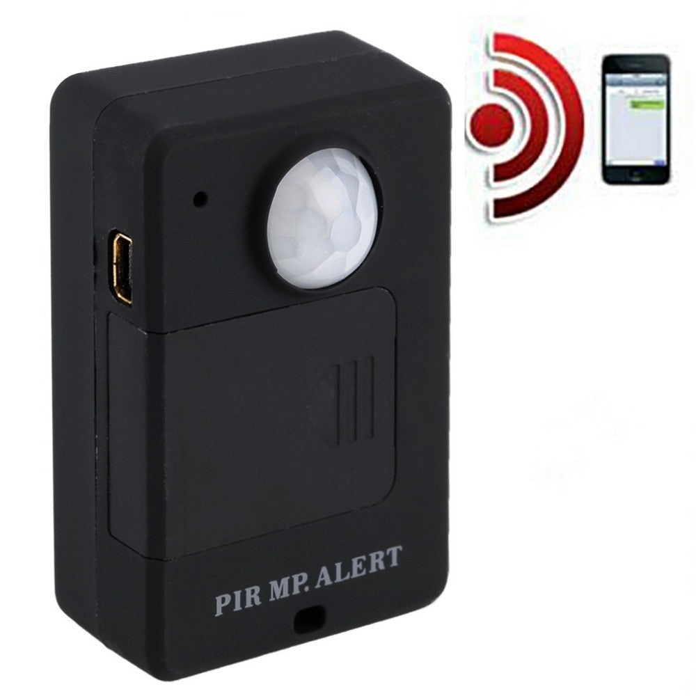 A9 Mini PIR Alarm Sensor Infrared GSM Wireless Alarm High Sensitivity Monitor Motion Detection Anti-theft EU Plug