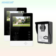 "Load image into Gallery viewer, HOMSECUR 4.3"" Wired Smart Video Door Phone Doorbell Intercom System 700TVLine Camera Durable Rainproof Cover XM403+XC005"