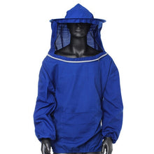 Load image into Gallery viewer, Durable  Beekeeping Jacket Veil Smock Equipment Supplies Bee Keeping Hat Sleeve Suit High-quality Cotton Free Shipping