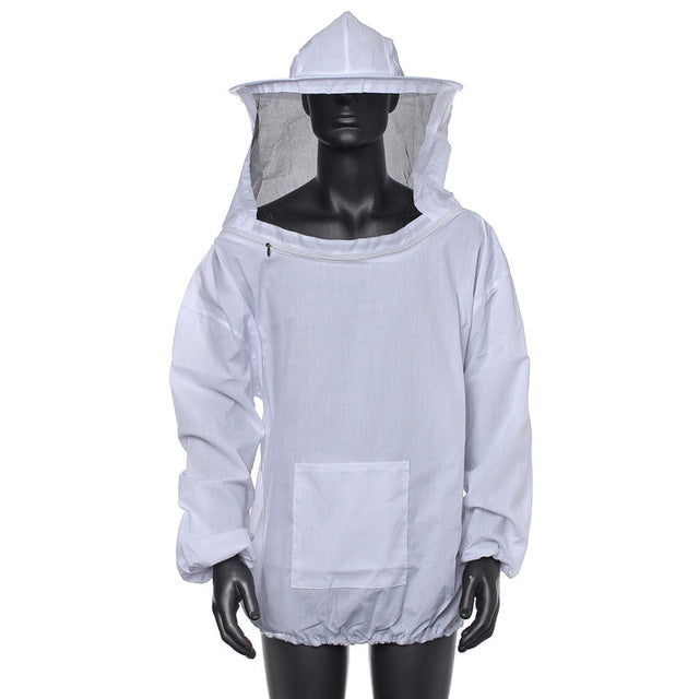 Durable  Beekeeping Jacket Veil Smock Equipment Supplies Bee Keeping Hat Sleeve Suit High-quality Cotton Free Shipping