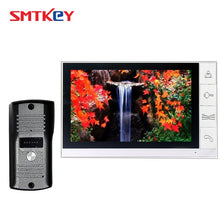 "Load image into Gallery viewer, 9inch video door phone intercom system with 700TVL color camera 9"" Video Doorphone System 998+666 / 669 / 668 / 660"