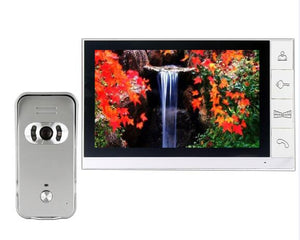 "9inch video door phone intercom system with 700TVL color camera 9"" Video Doorphone System 998+666 / 669 / 668 / 660"