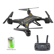 Load image into Gallery viewer, KY601S Full HD 1080P 4 Channel Long Lasting Foldable Arm Remote Control quadrocopter with camera Drone WIFI timely transmission