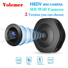 Load image into Gallery viewer, Volemer H6 DV/Wifi Micro Camera Night Version Mini Action Camera with motion Sensor Camcorder Voice Video Recorder Small Camer