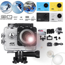Load image into Gallery viewer, Action Camera Ultra Hd 4k 30m Wifi 2.0 170d Screen 1080p  Underwater Waterproof Sport Camera Go Extreme Pro Cam Video Camcorder