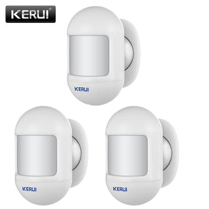 KERUI Wireless Mini Design PIR Motion Detector Passive Infrared Alarm Sensor with Magnetic Swivel Base for Home Alarm System