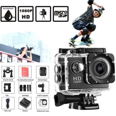 G22 1080P HD Shooting Waterproof Digital Video Camera
