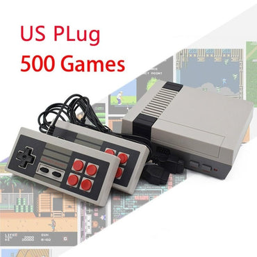 Built-In 500/620 Games Mini TV Game Console