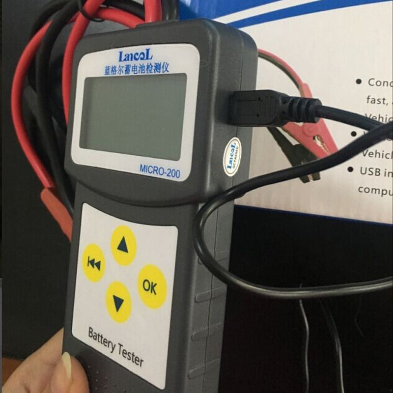 Micro200 Diagnostics Battery Car Tester Tool