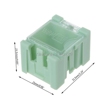 Electronic Component Container Mini Storage Box