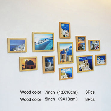 11 Pieces Classic Pictures Frames for Wall Hanging