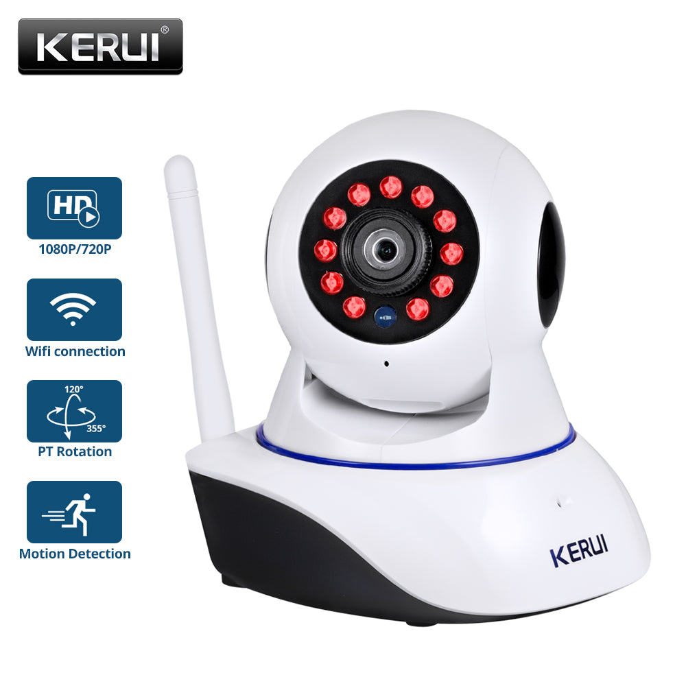 KERUI 720P 1080P HD Wifi Wireless Home Security IP Camera