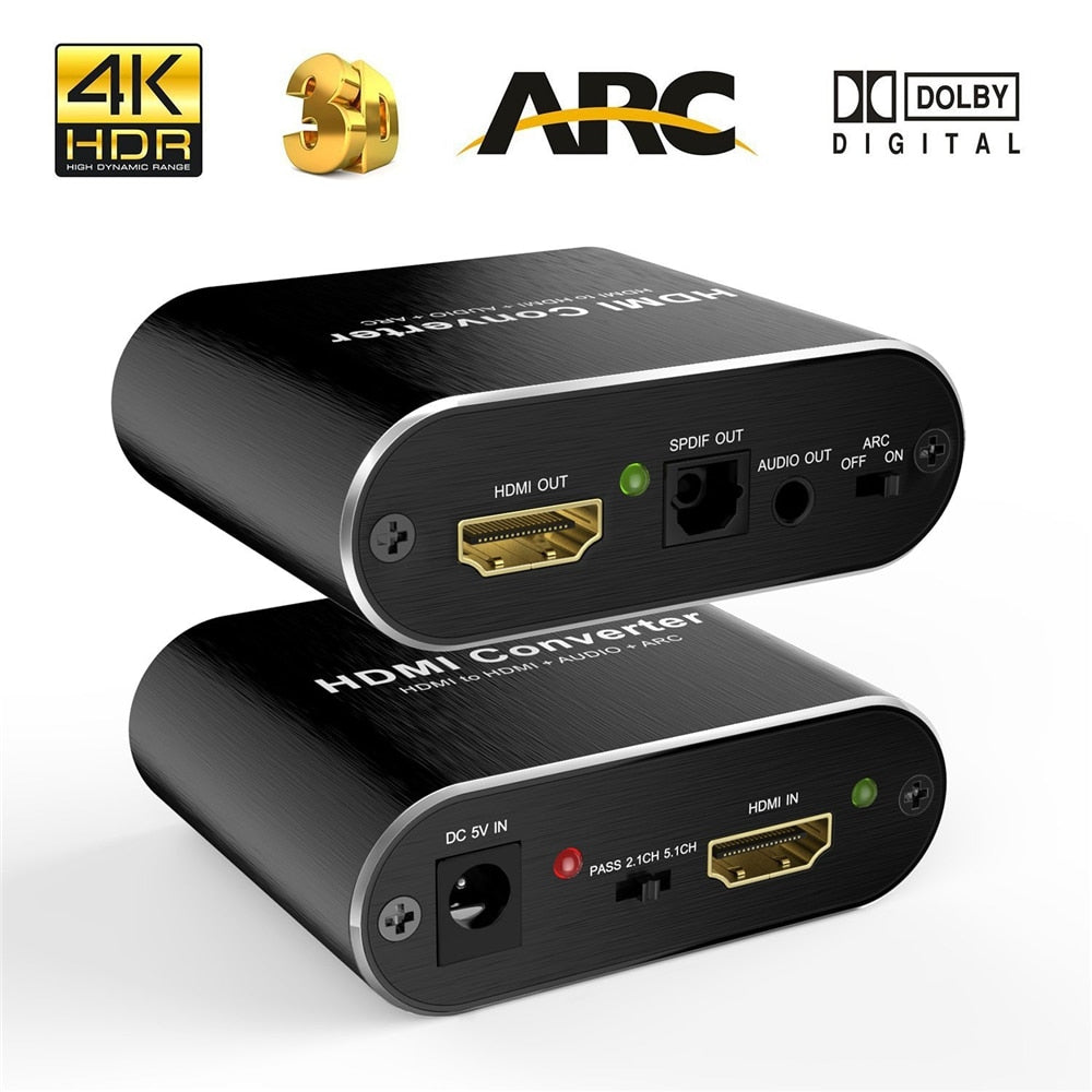HDMI audio extractor splitter