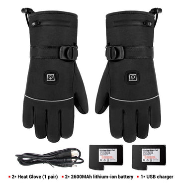 Heated Racing Riding Gloves