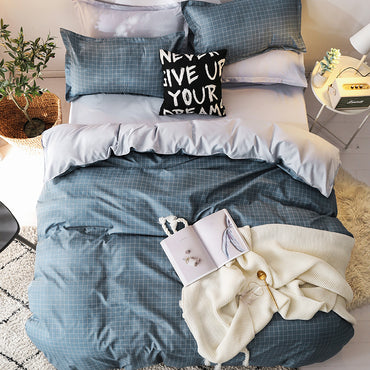 4 Pieces Classic Bedding Set