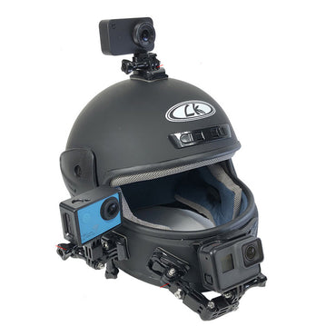 Camera Mount for Motorcycle Helmet