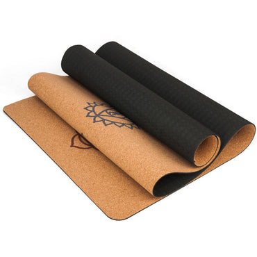 5MM Natural Cork TPE Yoga Mat
