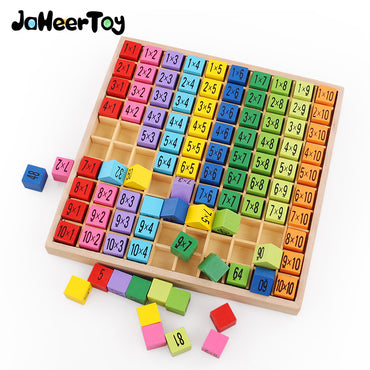 Montessori Multiplication Table Wooden Toy for Kids