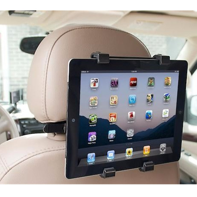 Back Seat Headrest Mount Tablet Holder