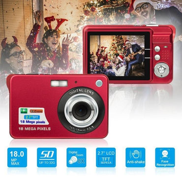 "Children Portable Mini Camera 2.7"" 720P 18MP 8x Zoom"