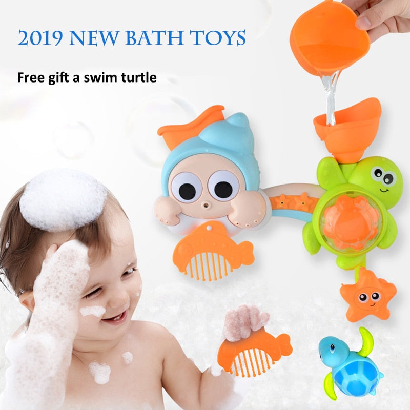 Baby & Toddler Bathroom Bath Water Toy Kit