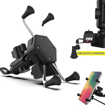 Motorcycle Mobile Phone Mount Holder