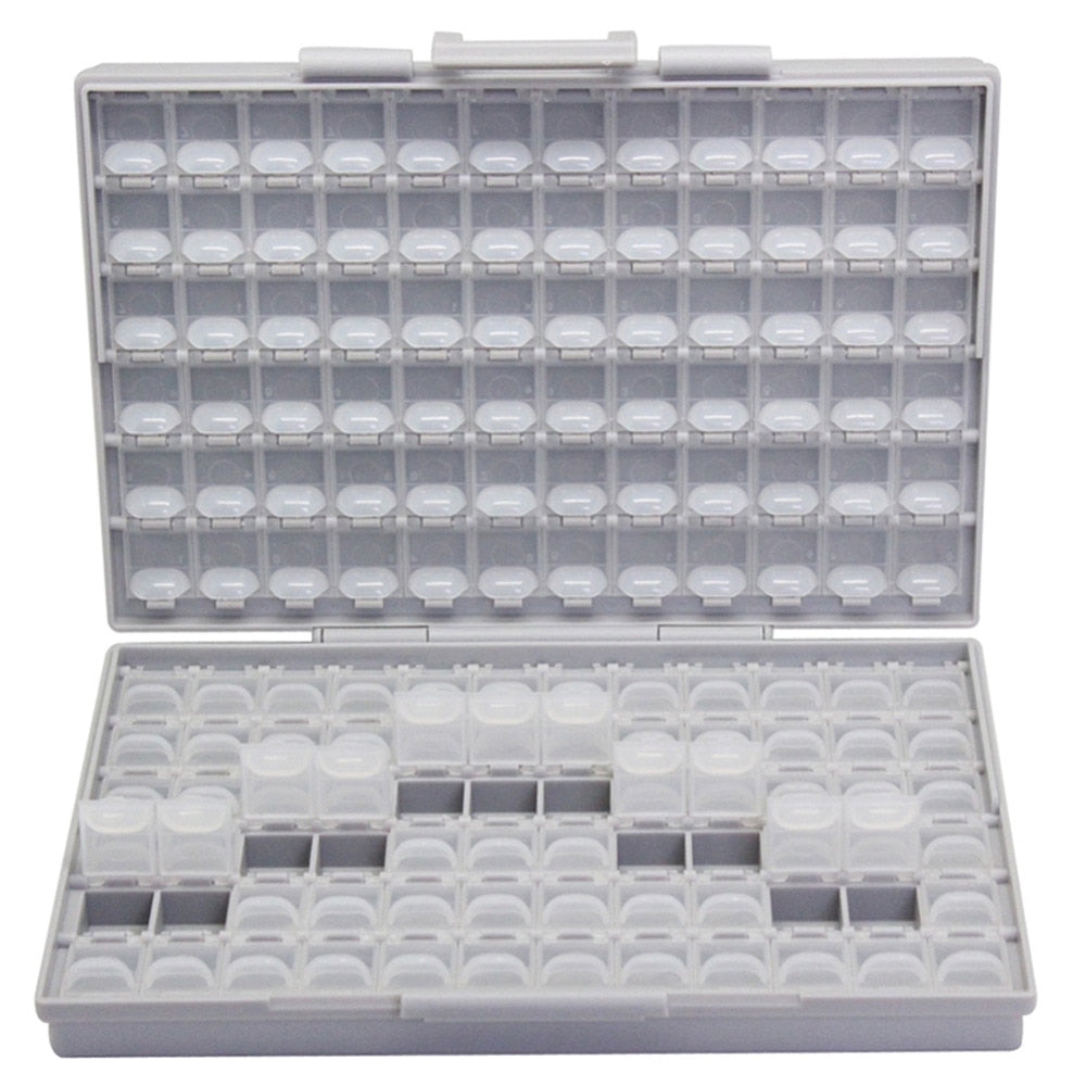 Transparent Toolbox Storage Box