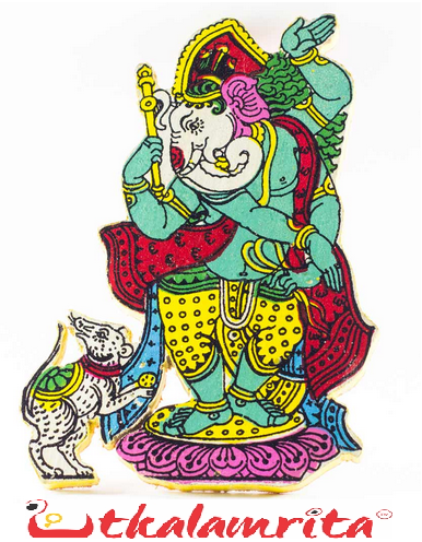 DANCING GANESHA FRIDGE MAGNETS!