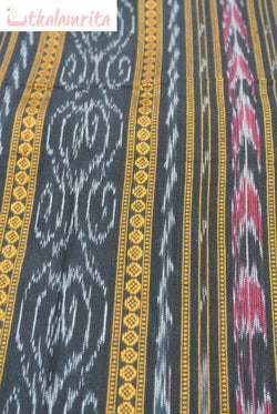 Sambalpuri Black Ikat (Fabric)