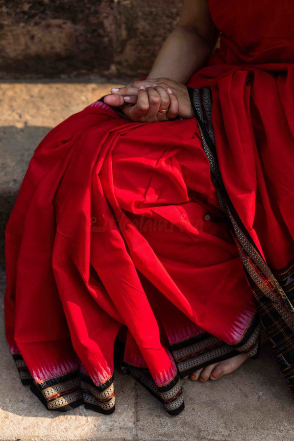 Red Black Sambalpuri